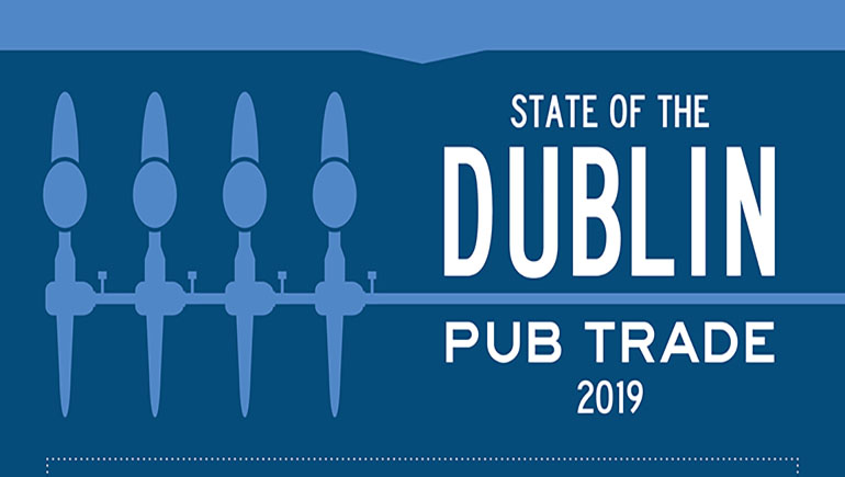 Infographics about the State of the Dublin Pub Trade Survey