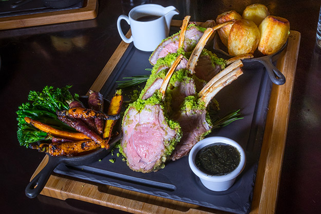 Roast Rack of Wicklow Lamb from the Bank on College Green - Image 2 #DubPubDishes