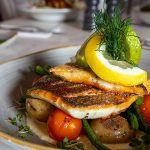 Mediterranean Sea Bass from Kealy's of Cloghran - #DubPubDishes