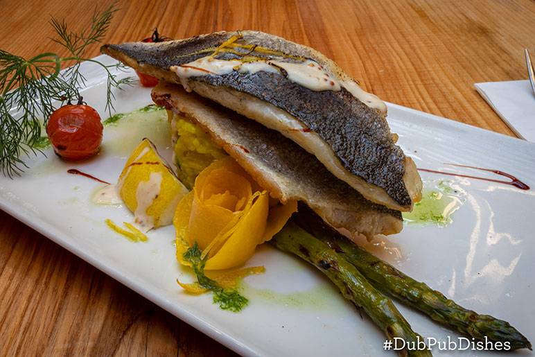 #DubPubDishes - Sea Bass Rissotto recipe from An Poitin Stil, Image 2