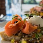 Smoked Salmon Bruschetta from The Blue Bar in Skerries - #DubPubDishes
