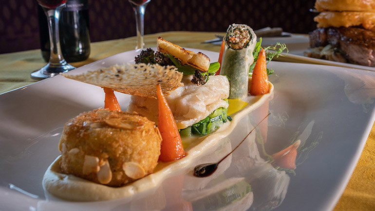 Coconut Poached Fillet of Cod from The Brock Inn - #DubPubDishes
