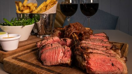 Porterhouse Steak from The Chop House - #DubPubDishes