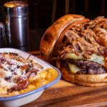 Smokin Bones Gobstopper Burger from The Wiley Fox - #DubPubDishes