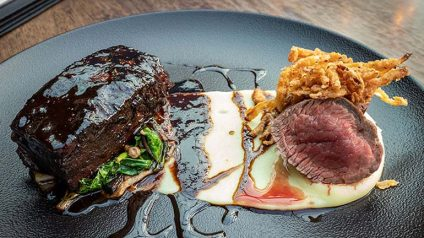 Duo of Irish Beef from Urban Brewing - #DubPubDishes