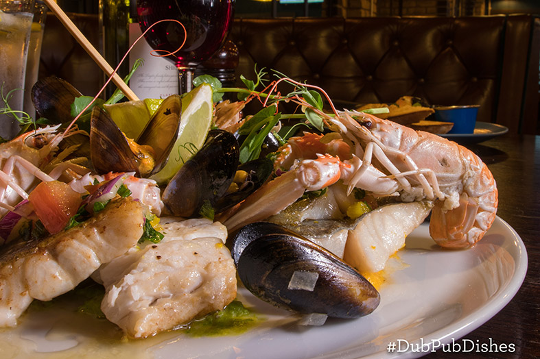 McAllister's Seafood Platter from Kenny's of Lucan, Image 2 - #DubPubDishes