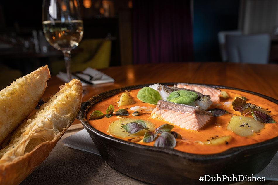 #DubPubDishes - Seafood Skillet from The Merrion Inn, Image 2