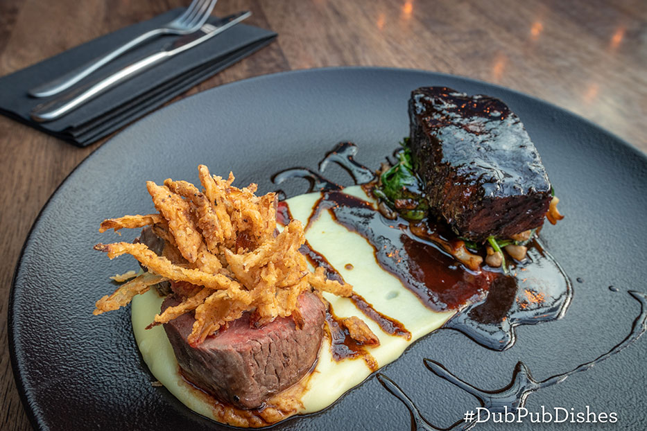 Duo of Irish Beef from Urban Brewing, Image 2 - #DubPubDishes