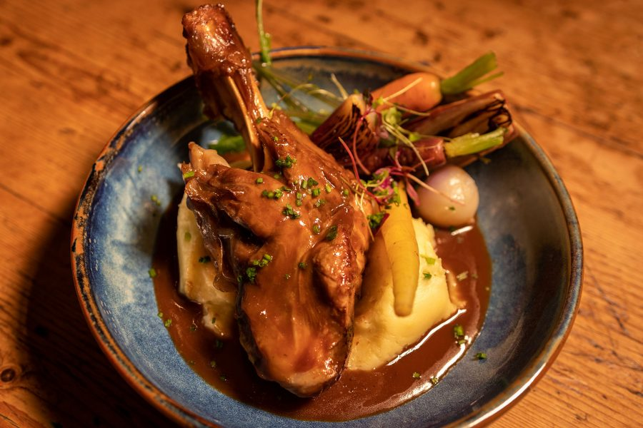 DubPubDishes - Johnnie Fox's Braised Rack of Lamb, Picture 2
