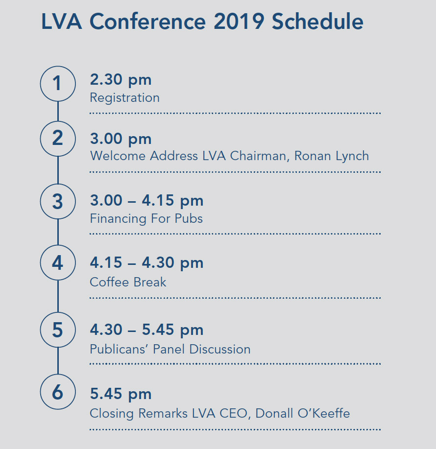 LVA Conference Schedule - Annual Conference 2019